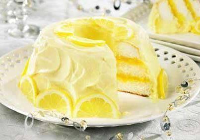 Gâteau viennois au citron